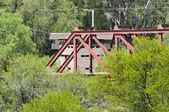 Krom River Blockhouse — Stock Photo
