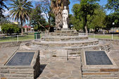 World War Two monument, Beaufort West — Stock Photo