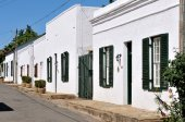 Historical Karoo houses in Colesberg — Stock fotografie