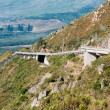 View of Sir Lowreys Pass near Somerset West, South Africa — Stock Photo #64444537