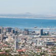 Panorama of Cape Town city center and harbor — Stock Photo #67250459