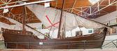 Life size Dias caravel replica built in Portugal  — Stock Photo