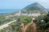 View from the Flying Dutchman Funicular at Cape Point — Stock Photo