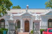 First library building of the University of Stellenbosch — Stock Photo