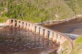 Railway bridge over the Kaaimans River — Stock Photo