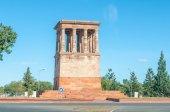 Honoured Dead Memorial in Kimberley — Stock Photo