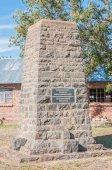 Voortrekker centenary memorial in Reddersburg — Stock Photo