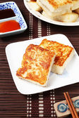 Steamed turnip cake — Stock Photo