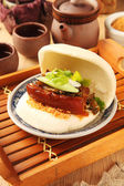 Gua Bao (Steamed sandwich ) — Stockfoto
