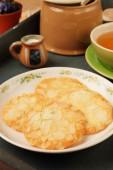 Almond soft cookies — Stock Photo