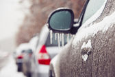 Icy rain — Stock Photo