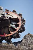 Huge mining machine — Stock Photo