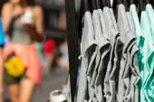 Garment on hangers — Foto de Stock