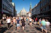 Pedestrians in Copenhagen — Foto de Stock