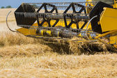 Close-up of harvester — Stock Photo
