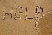 Att hjälpa — Stockfoto