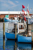 Two small fishing boats — Stockfoto