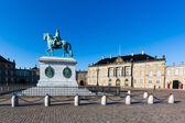 Amalienborg Palace — Stock Photo