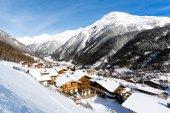 Ski resort Soelden — Stockfoto