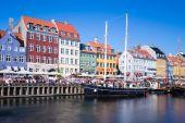 Nyhavn district in Copenhagen — Stock Photo