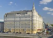 Hotel Baltschug Kempinski — Stock Photo