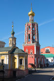 High-Petrovsky male monastery in Moscow — Stock Photo