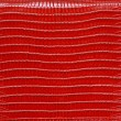 Texture of genuine leather red — Stock Photo #76366627