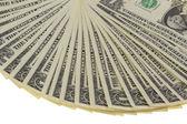 Fan of Dollar Notes — Stock Photo