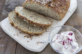 Homemade brown bread  — Stockfoto