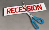 Recession concept — Stock Photo