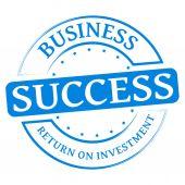 Framgång stämpel — Stockvektor