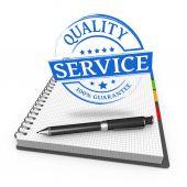Service quality — Stock Photo