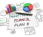 Plan b — Stock Photo
