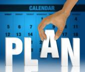 Planning concept — Stock Photo