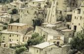 Medieval village in France — Stock Photo