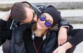 Pareja de enamorados — Foto de Stock
