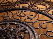 Beautiful forged element — Stock Photo