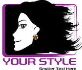 Trendy youth girl portrait — Stock Vector