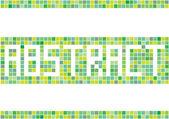 モザイクの抽象的なベクトルの背景 — ストックベクタ
