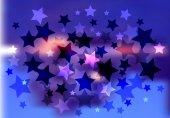 Heldere vector sterren achtergrond — Stockvector