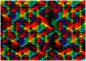 Abstract pyramids background — Cтоковый вектор