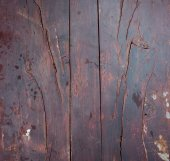 Grunge rough detailed wooden background of vintage table — Stock Photo