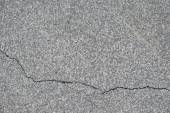 Grunge concrete cement rough wall with crack in industrial building detailed texture background — Stock Photo