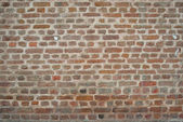 Old vintage grunge urban street rusty brickwall background texture. — Stock Photo