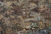 Old vintage aged cement street rusty grunge rough wall surface background. — Stock Photo