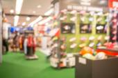 Sport winkel, shopping mall abstract intreepupil onscherpe achtergrond. — Stockfoto
