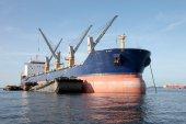 Cargo ship. — Stock Photo
