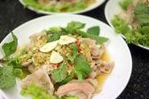 Sour Pork Salad is the local cuisine. — Stock fotografie