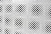 White background of wall with holes. — Foto de Stock
