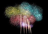 Mix Fireworks or firecracker. — Stock Photo